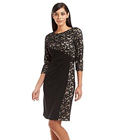 R&M Richards® Lace Cocktail Dress