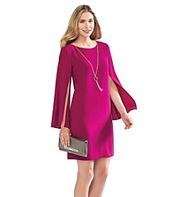 AGB® Trumpet Sleeve Sheath Dress