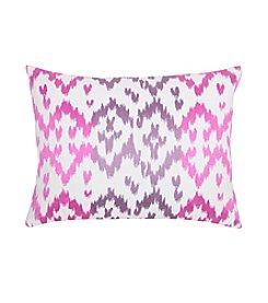 Blissliving Home® Ikat Orchid Decorative Pillow