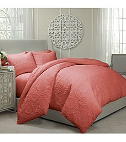 Vue™ Barcelona Quilted Coverlet and Duvet Ensemble