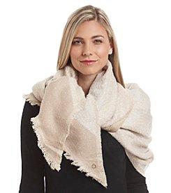 Calvin Klein Angled Blanket Wrap
