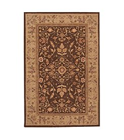 Nourison Heritage Hall Brown Area Rug