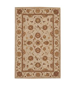 Nourison Heritage Hall White Area Rug