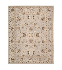 Nourison Heritage Hall Light Blue Area Rug
