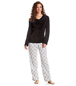 PJ Couture Fleece Pajama Set