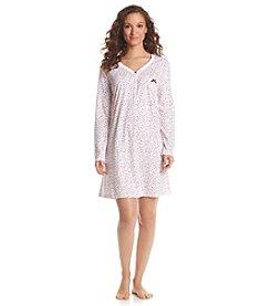 KN Karen Neuburger Printed Sleepshirt