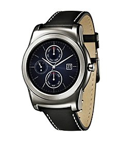 LG Electronics Silver/Black G Watch Fitness Smart Watch