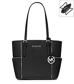 MICHAEL Michael Kors® Jet Set Travel Medium Leather Tote