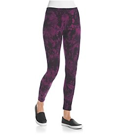Kensie® Performance Tie Dye Leggings