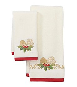 Lenox® Pinecone Holiday Towel Collection