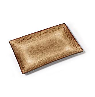 cambria rectangle platter
