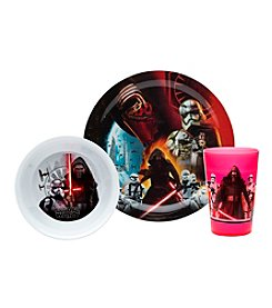 Zak Designs® Star Wars™ Episode VII 3-pc. Dinnerware Set