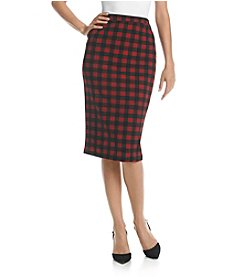 Bobeau Pencil Skirt