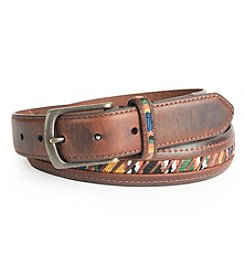 Columbia Men's Geo Knit Pattern Belt