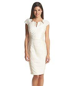 JAX® Lace Panel Dress