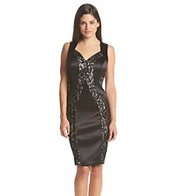 JAX® Lace Sheath Dress