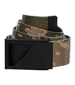 Under Armour® Men's Camo Reversible Webbing Belt