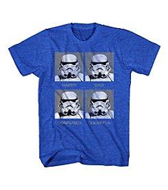 Mad Engine Men's Short Sleeve Star Wars™ Moody Trooper Graphic Tee