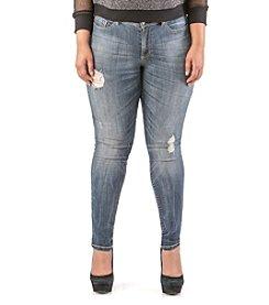 Poetic Justice® Scarlett Skinny Jeans