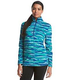 Exertek® Camo Print 1/2 Zip Microfleece Pullover