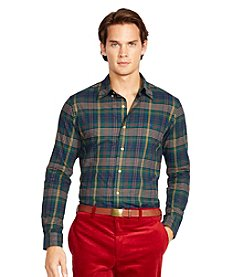 Polo Ralph Lauren® Men's Long Sleeve Plaid Sport Shirt