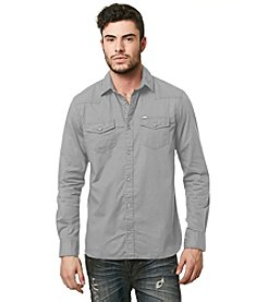 Buffalo by David Bitton Men's Long Sleeve Button Down Shirt