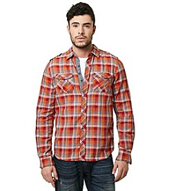 Buffalo by David Bitton Men's Long Sleeve Plaid Button Down Shirt