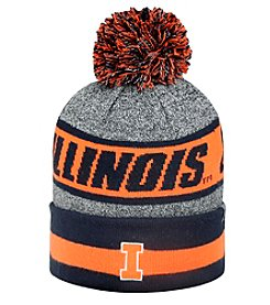 NCAA® Illinois Men's Cumulus Pom Knit Hat