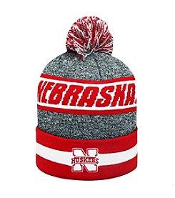 NCAA® Nebraska Men's Cumulus Pom Knit Hat