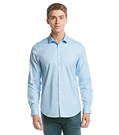 Calvin Klein Men's Long Sleeve Cooltech Oxford Button Down