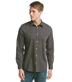Calvin Klein Men's Long Sleeve Basic Button Down Shirt