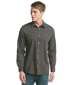 Calvin Klein Men's Long Sleeve Basic Button Down Shirt