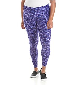 Calvin Klein Performance Plus Size Printed Pants