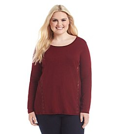Lucky Brand® Plus Size Lace Tunic