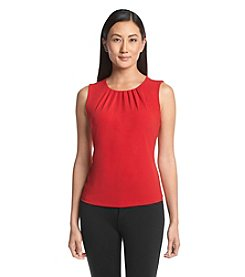 Calvin Klein Petites' Pleat Neck Cami