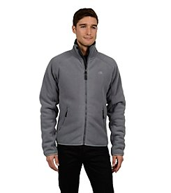 Champion® Men's Bounded Microfleece Jacket