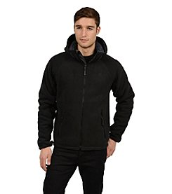 Champion® Men's Hooded Bonded Knit Jacket