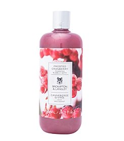 Brompton & Langley Frosted Cranberry Foaming Bubble Bath