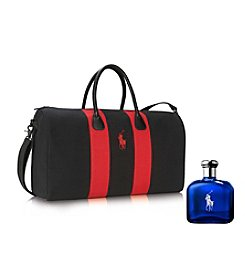 Ralph Lauren® Polo Blue Weekend Duffle Bag Gift Set