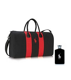 Ralph Lauren® Polo Black Weekend Duffle Bag Gift Set