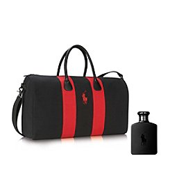 Ralph Lauren® Polo Double Black Weekend Duffle Bag Gift Set