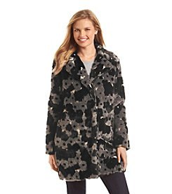 Betsey Johnson® Patterned Faux Fur Walker