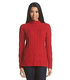 GH Bass & Co. Cable Knit Sweater
