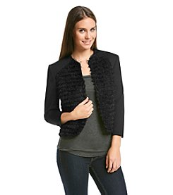 Nine West® Flyaway Eyelash Jacket