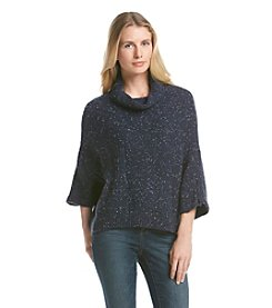 DKNY JEANS® Speckled Poncho