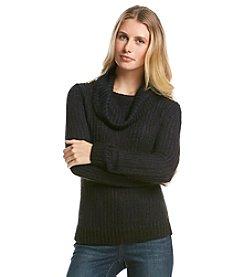 DKNY JEANS® Turtleneck Yarn Pullover