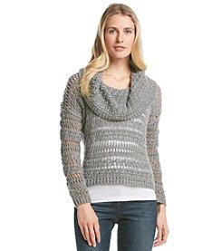 DKNY JEANS® Crochet Pullover