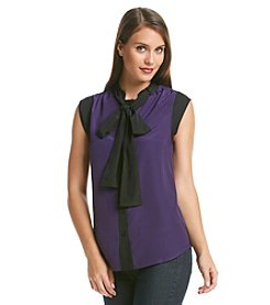 MICHAEL Michael Kors® Tie Neck Top