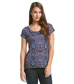 MICHAEL Michael Kors® Paisley Elliptical Top