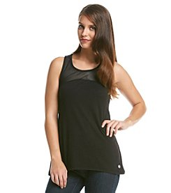 MICHAEL Michael Kors® Mesh Panel Tank Top